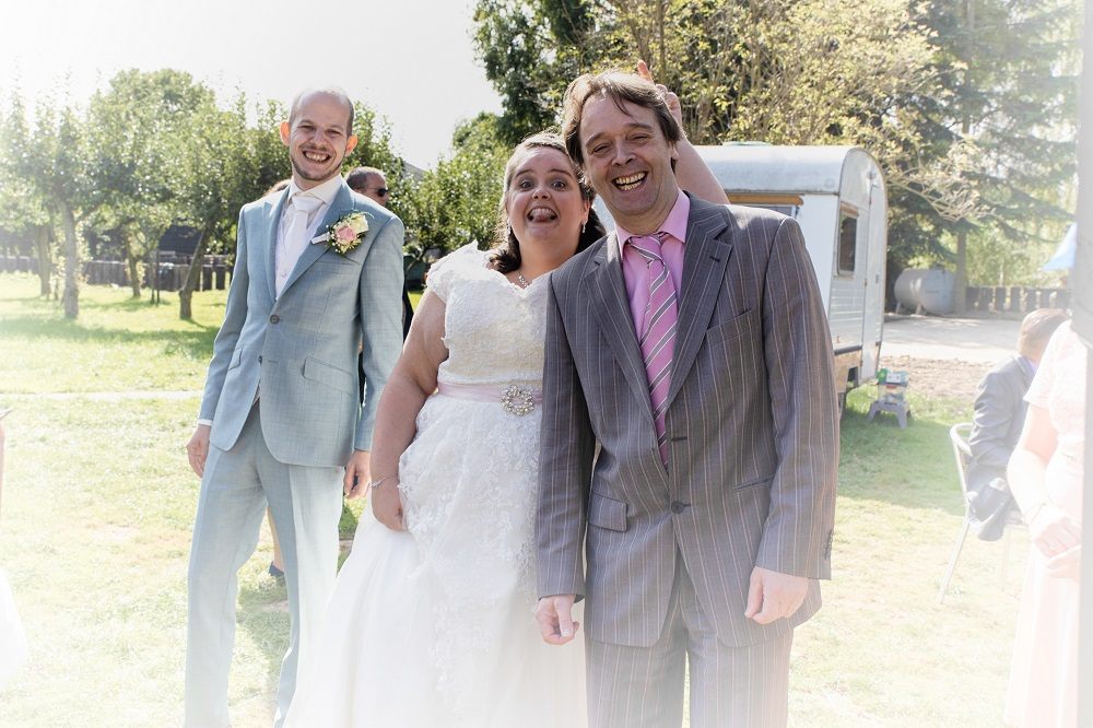 Bruiloft Colin en Monica