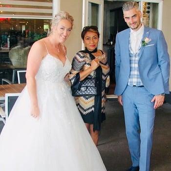 Bruidspaar Stephan & Kim
