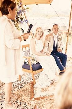 Bruidspaar Albert & Anne